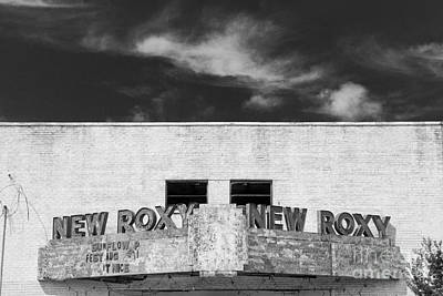 Photograph - New Roxy Theater - Clarksdale Mississippi by T Lowry Wilson