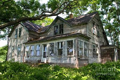 Nikki Vig Royalty-Free and Rights-Managed Images - New Settlement Old Homestead by Nikki Vig