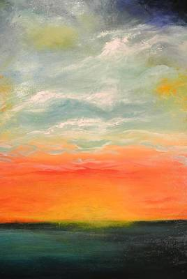 Painting - New Sky 2013 by Tamara Bettencourt
