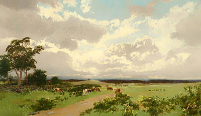 New South Wales Painting - New South Wales by Mountain Dreams
