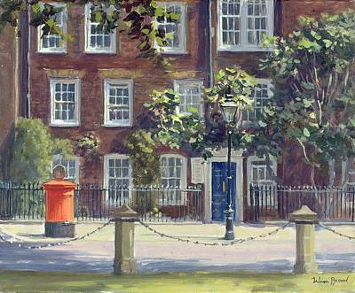Barristers Photograph - New Square, Lincolns Inn Oil On Canvas by Julian Barrow