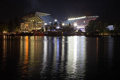 New Husky Stadium Reflection Art Print