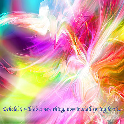 Digital Art - New Thing by Margie Chapman