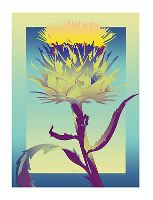 New Thistle Art Print