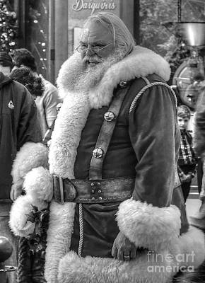 Photograph - Jolly Saint Nick by Maddalena McDonald