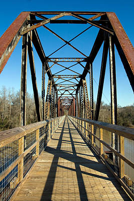 Photograph - New Use For An Old Bridge by Joseph C Hinson Photography