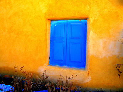 Photograph - New World Taos by Sian Lindemann