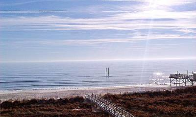 Photograph - New Year Carolina Beach by Joan Meyland