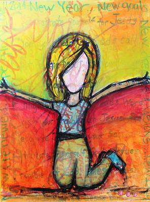 Mixed Media - New Year by Carrie Todd
