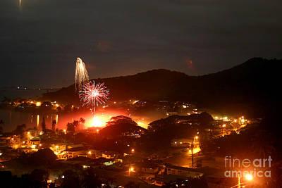 Photograph - New Year Eve Kaneohe Bay Hawaii by Mukta Gupta