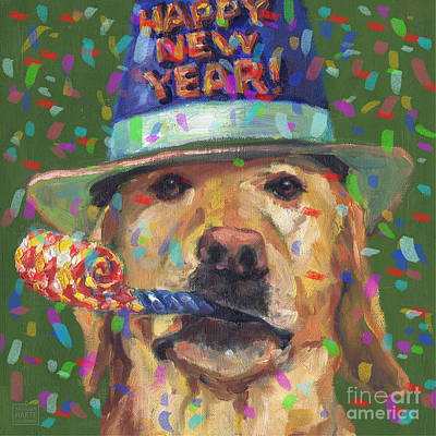 Mixed Media - New Year Lab by Kathleen Harte Gilsenan