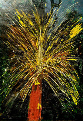 Painting - New Years Celebration by Anand Swaroop Manchiraju