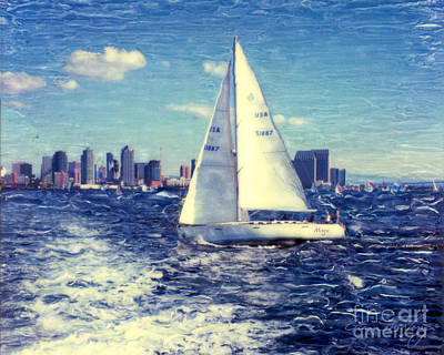 Photograph - New Years Day Sailing by Glenn McNary