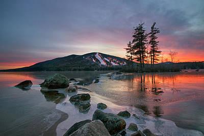 Photograph - New Year's Day Sunset by Darylann Leonard Photography