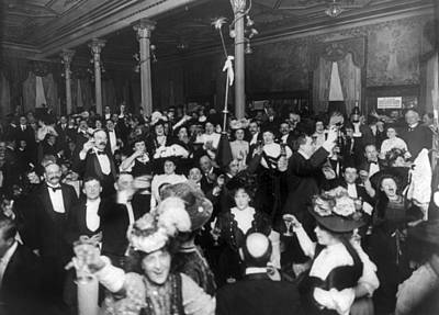 Photograph - New Years Eve, C1907 by Granger