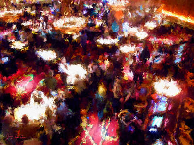 Photograph - New Years Eve Gaming by Gary De Capua