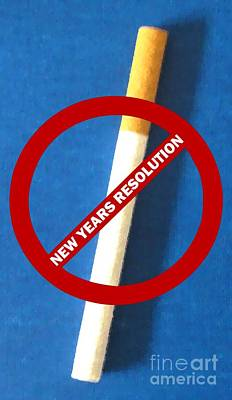 New Years Resolution Art Print by Margaret Newcomb