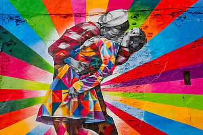 Amador Photograph - New York - High Line Graffiti by Amador Esquiu Marques