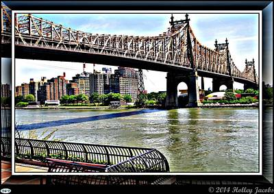 Digital Art - New York 4 by Holley Jacobs