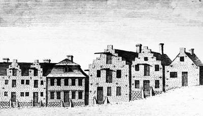 New York Albany, 1791 Art Print by Granger
