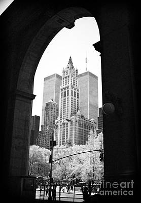 Photograph - New York Arches 1990s by John Rizzuto