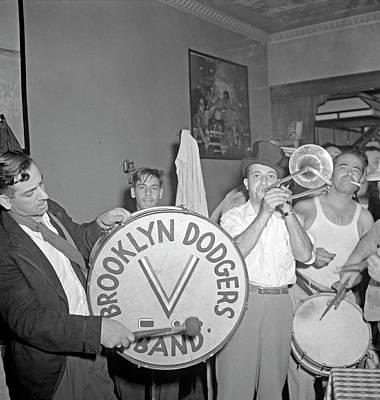 Mott Street Painting - New York Band, 1942 by Granger