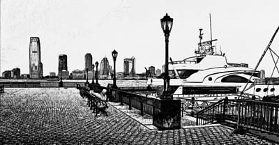 New York Black And White 6 Art Print by Yury Malkov