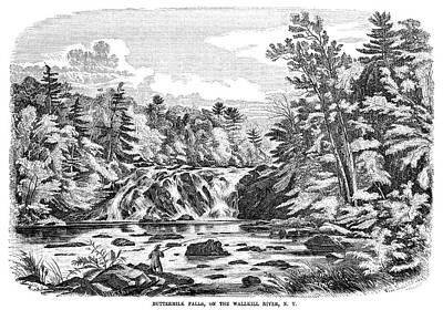 New York Buttermilk Falls Art Print