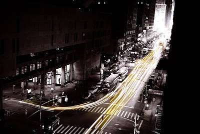 Montreal Icons Photograph - New York Cabs by Simon Laroche