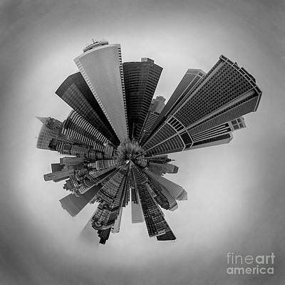 New York Circagraph 5 Art Print by Az Jackson