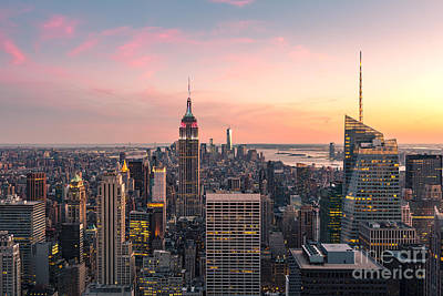 Wtc Sunsets Photograph - New York City 17 by Tom Uhlenberg