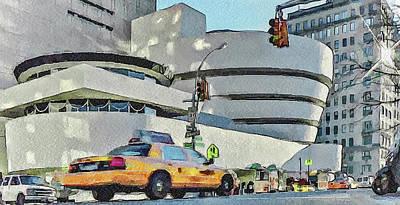 New York City 22 Art Print by Yury Malkov