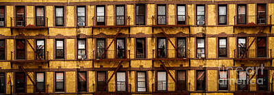 New York City Apartment Building Study Art Print by Amy Cicconi