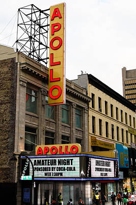 Apollo Theater Photograph - New York City - Apollo Theater  by Russell Mancuso