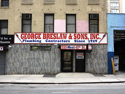 Photograph - New York City Storefront 4 by Frank Romeo