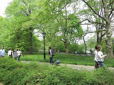 New York City - Central Park - 121215 Art Print