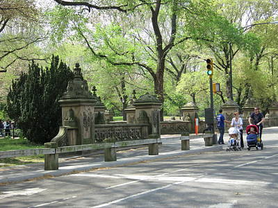 New York City - Central Park - 12129 Art Print by DC Photographer