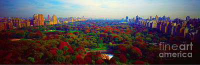 New York City Central Park South Art Print