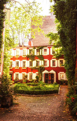 New York City - Charming Townhouses Art Print