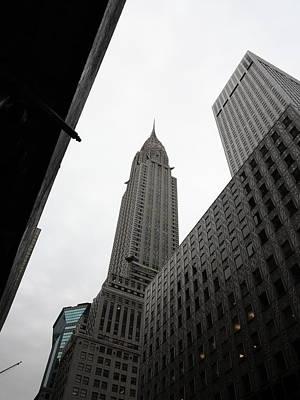 Photograph - New York City - Chrysler Building 2 by Frank Romeo