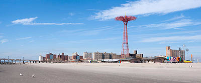 Photograph - New York City Coney Island by Rospotte Photography