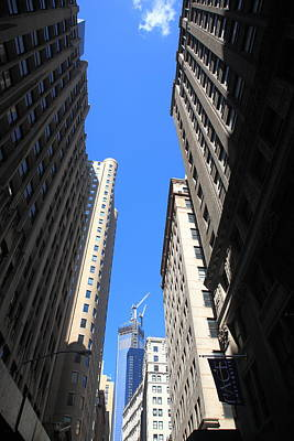 Photograph - New York City Downtown by Frank Romeo