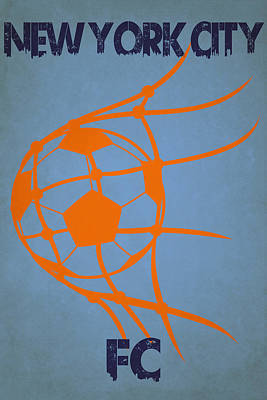 New York City Fc Goal Art Print by Joe Hamilton