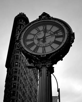 Photograph - New York City Fifth Avenue Clock by Toby McGuire