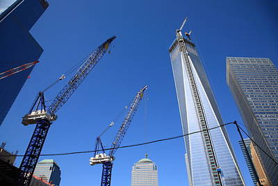 Photograph - New York City Freedom Tower by Frank Romeo