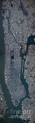 Photograph - New York City From Above by Science Source