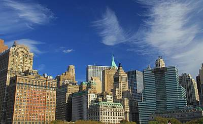 Skylines Royalty-Free and Rights-Managed Images - New York City From Central Park by Dan Sproul