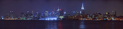Photograph - New York City From Hoboken by Raymond Salani III