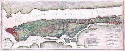 Politicians Royalty-Free and Rights-Managed Images - New York City in 1776 by Stephen Stookey