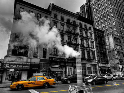 Photograph - New York City - Lower Manhattan 006 by Lance Vaughn